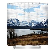 St. Mary's Lake Shower Curtain