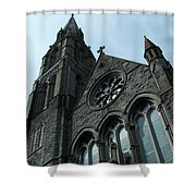 St. Mary's Of The Rosary Catholic Church Shower Curtain