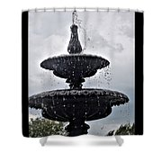 St. Mary's Water Fountain Shower Curtain