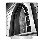 St Mary's Window Shower Curtain