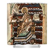 St. Matthew, 10th Century Shower Curtain