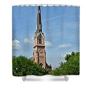 St. Matthew's German Evangelical Lutheran Church In Charleston Shower Curtain