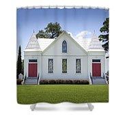 St. Matthews Lutheran Church 2 Shower Curtain