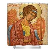 St. Michael Archangel - Jcami Shower Curtain