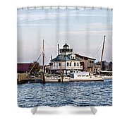 St Michael's Maryland Lighthouse Shower Curtain