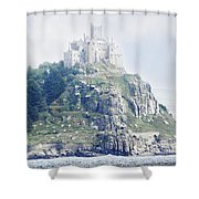 St Michael's Mount Cornwall England Shower Curtain