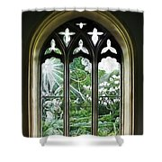 St Nicholas And St Magnus Church Window - Impressions Shower Curtain