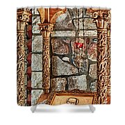 St. Nicholas Chapel Iv Shower Curtain
