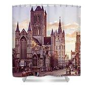 St. Nicholas Church, Gent Shower Curtain