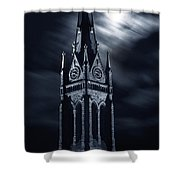 St Nicholas Church Wilkes Barre Pennsylvania Shower Curtain