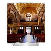 St. Nicholas Of Tolentine Church - Iv Shower Curtain