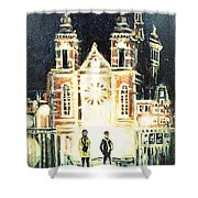 St Nicolaaskerk Church Shower Curtain