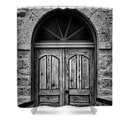 St Olafs Church Door Shower Curtain