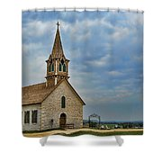 St Olafs Church Shower Curtain