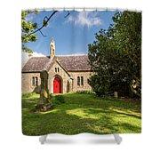 St Oswald's Church Entrance Shower Curtain