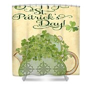 St. Patrick-jp3192-a Shower Curtain