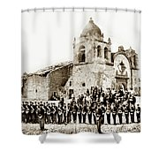 St. Patrick's Cadets On The Third Of July, 1882 At The  Shower Curtain