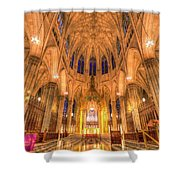 St Patrick's Cathedral Manhattan New York Shower Curtain