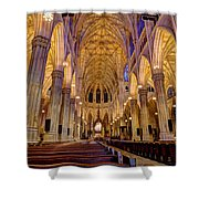 St Patrick's Cathedral Shower Curtain