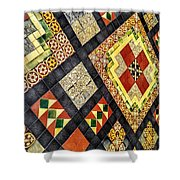 St. Patrick's Cathedral Mosaic Floors Shower Curtain