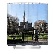 St. Patrick's Cathedral, Trim Shower Curtain