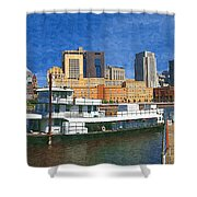 St Paul On The Mississippi Shower Curtain