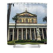 St. Paul Outside The Walls Shower Curtain