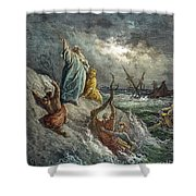 St. Paul: Shipwreck Shower Curtain