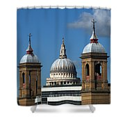 St Pauls An Alternate View Shower Curtain