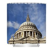 St Pauls Cathedral London England Uk Shower Curtain