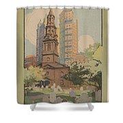 St. Paul's Chapel Shower Curtain