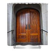 St Paul's Episcopal Church In San Francisco II Shower Curtain