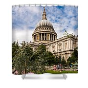 St Pauls Summer Shower Curtain