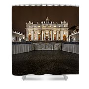 St. Peter Basilica Shower Curtain