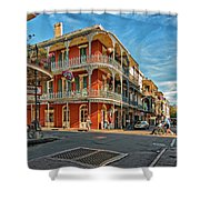 St Peter St New Orleans Shower Curtain