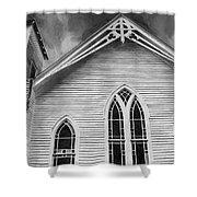 St Peter United Methodist Church-digital Art Shower Curtain