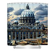 St. Peter's Basilica Shower Curtain