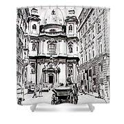 St. Peters Cathedral Shower Curtain