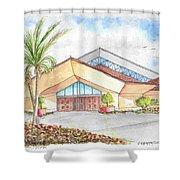 St. Peter's Catholic Church, Jupiter, Florida Shower Curtain