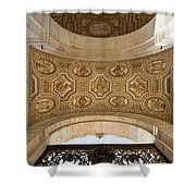 St Peter's Ceiling Detail Shower Curtain