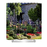 St. Peter's Cemetery Gravesites Shower Curtain