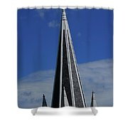 St. Peter's Roman Catholic Church's Steeple In Harpers Ferry Shower Curtain