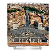 St Peter's Square Shower Curtain