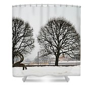 St. Petersburg - Winter Shower Curtain
