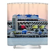 St. Petersburg Pier Shower Curtain