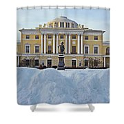 St Petersburg, Russia, Pavlovsk Palace Shower Curtain