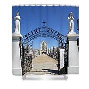 St. Roch Gate #2 Shower Curtain