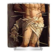 St Sebastian 1506 Shower Curtain