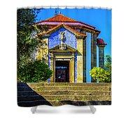 St. Sebastian's Chapel Shower Curtain