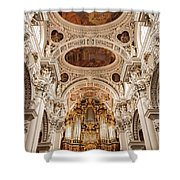 St. Stephen Cathedral Interior Shower Curtain